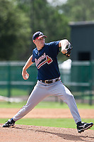 Dan Jurik of the Gulf Coast League Braves during the game against the Gulf Coast League Tigers July 3 2010 at the Disney Wide World of Sports in Orlando, Florida.  Photo By Scott Jontes/Four Seam Images