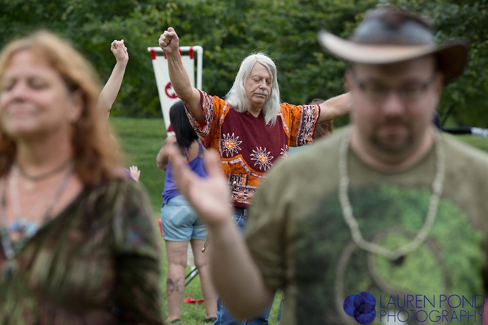 Louisville Pagan Pride Day. September 12, 2015.