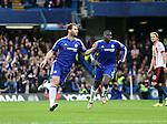 Chelsea's Branislav Ivanovic celebrates scoring his sides opening goal<br /> <br /> Barclays Premier League- Chelsea vs Sunderland - Stamford Bridge - England - 19th December 2015 - Picture David Klein/Sportimage