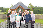 COMMITTEE: Checking out the new developments at.Clogher Graveyard altar shelter on Monday last were members.of the Clogher Graveyard Committee. They were.Carmel Mansfield, James Sugrue, Tony ORiordan, Tom.McCarthy, Regina Mansfield Coggins, Sheila Sugrue, Noel.Keane, Kathleen ONeill and Fr Michael OLeary.