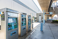 Metro Expo Line Ticket Machines at Culver City Station
