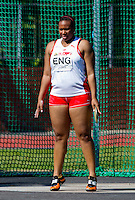 23 MAY 2010 - LOUGHBOROUGH, GBR - Eden Francis (England) - Womens Discus - Loughborough International Athletics .(PHOTO (C) NIGEL FARROW)