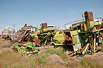 Bone yard combines, Lind, Wash.