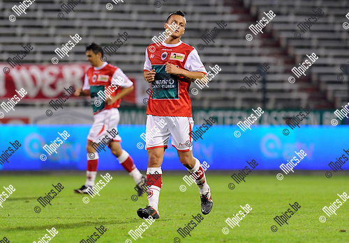 11-10-29 / Voetbal / seizoen 2011-2012 / R. Antwerp fc - KSK Heist / Guy Dufour..Foto: Mpics