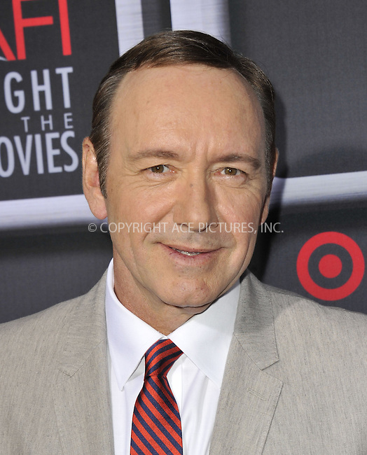 WWW.ACEPIXS.COM....April 24 2013, LA....Kevin Spacey arriving at AFI's Night at the Movies at ArcLight Cinemas on April 24, 2013 in Hollywood, California.......By Line: Peter West/ACE Pictures......ACE Pictures, Inc...tel: 646 769 0430..Email: info@acepixs.com..www.acepixs.com