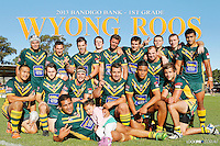 Wyong Roos 2013 Team Photos