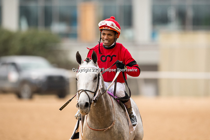 February 17, 2020:Silver Prospector (2) with jockey Ricardo Santana Jr. aboard winning the Southwest Stakes at Oaklawn Racing Casino Resort in Hot Springs, Arkansas on Feburary 17, 2020. Ted McClenning//Eclipse Sportswire/CSM