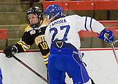 Lindsay Berman (Boston - 10), Kristy Zamora (Toronto - 27) - The Boston Blades defeated the visiting Toronto Hockey Club 4-2 on Sunday, February 6, 2011, at Bright Hockey Center in Cambridge, Massachusetts.
