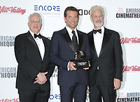 Rick Nicita, Mark Badagliacca, Bradley Cooper. 32nd American Cinematheque Award Presentation Honoring Bradley Cooper held at The Beverly Hilton Hotel.       <br /> CAP/ADM/PMA<br /> &copy;BT/ADM/Capital Pictures