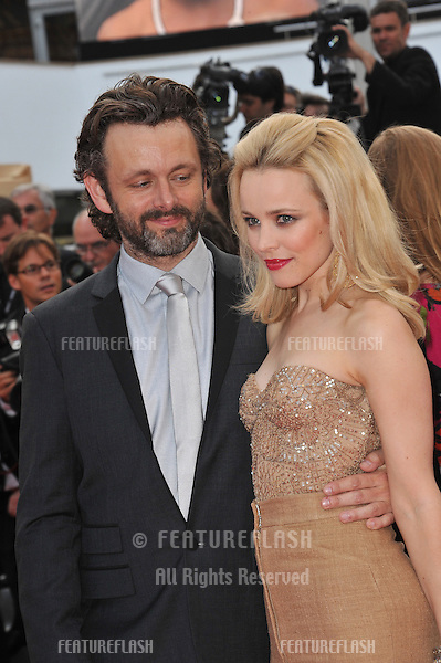 "Rachel McAdams & Michael Sheen at the premiere of ""Sleeping Beauty"" in competition at the 64th Festival de Cannes..May 12, 2011  Cannes, France.Picture: Paul Smith / Featureflash"