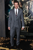 "HOLLYWOOD, CA - DECEMBER 02: Richard Armitage arriving at the Los Angeles Premiere Of Warner Bros' ""The Hobbit: The Desolation Of Smaug"" held at Dolby Theatre on December 2, 2013 in Hollywood, California. (Photo by Xavier Collin/Celebrity Monitor)"
