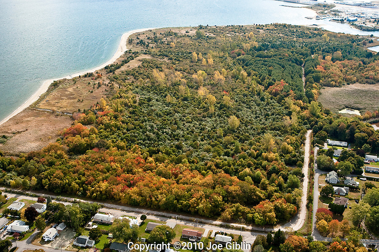 Calf Pasture Point in North Kingstown, RI  Aerial images of RI/Narragansett Bay