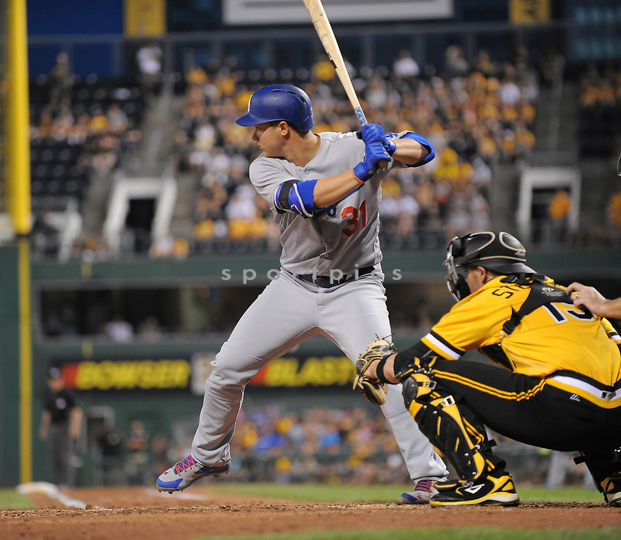 Los Angeles Dodgers Joc Pederson (31) during a game against the Pittsburgh Pirates on June 26, 2016 at PNC Park in Pittsburgh, PA. The Dodgers beat the Pirates 4-3.