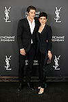 Spanish actress Veronica Echegui and model Vinnie Woolston attend L'Homme from Yves Saint Laurent event in Madrid, Spain. February 29, 2016. (ALTERPHOTOS/Victor Blanco)