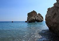 Rocks at Aphrodite's birthplace, Cyprus.
