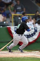 June 24, 2009: Josh Harrison of the Peoria Chiefs at the 2009 Midwest League All Star Game at Alliant Energy Field in Clinton, IA.  Photo by: Chris Proctor/Four Seam Images