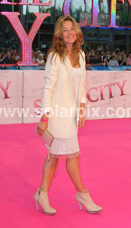 **ALL ROUND PICTURES FROM SOLARPIX.COM**.**SYNDICATION RIGHTS FOR UK AND SPAIN ONLY**.The Celebs seen attending the red carpet for the movie Sex and the City in Berlin in Germany. .This pic:Alexandra Neldel.JOB REF:6416-CPR/ Stephan Schraps DATE:15_05_08.**MUST CREDIT SOLARPIX.COM OR DOUBLE FEE WILL BE CHARGED* *UNDER NO CIRCUMSTANCES IS THIS IMAGE TO BE REPRODUCED FOR ANY ONLINE EDITION WITHOUT PRIOR PERMISSION*