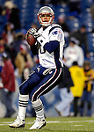 18 November 2007: New England Patriots quarterback Matt Cassel warms up prior to a game against the Buffalo Bills at Ralph Wilson Stadium in Orchard Park, NY. The Patriots defeated the Bills 56-10 in their second meeting of the season...Mandatory Photo Credit: Ed Wolfstein Photo