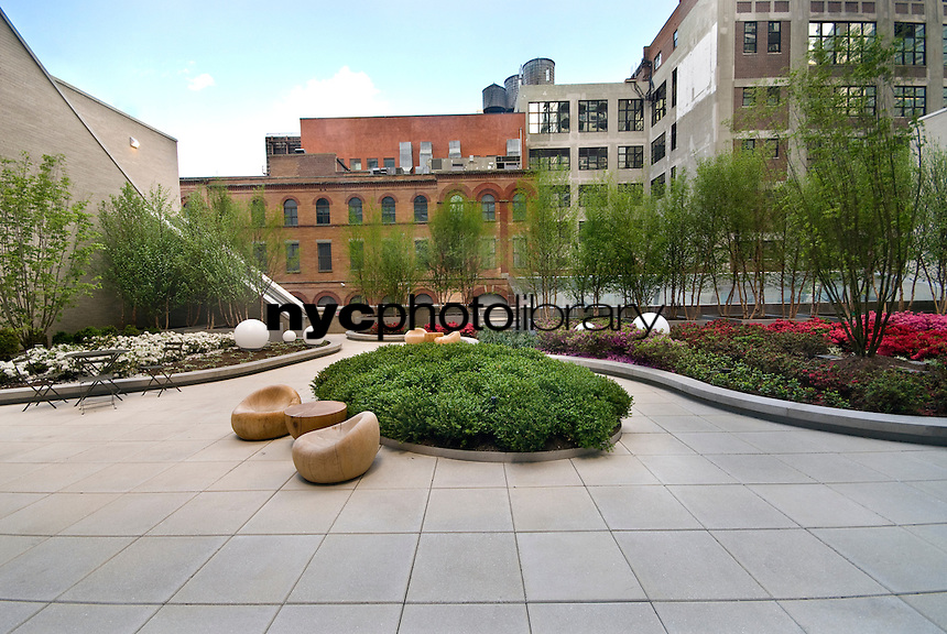 Garden at 505 West 37th Street