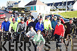 Cyclists from Cahersiveen, Waterville & Ballinskelligs took part in a 10 mile cycle around Ballinskelligs in aid of the Haiti Disaster on a very sunny Sunday last afternoon.