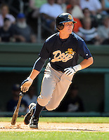 May 31, 2009: Infielder Corban Joseph (5) of the Charleston RiverDogs, Class A affiliate of the New York Yankees, in a game against the Greenville Drive at Fluor Field at the West End in Greenville, S.C. Photo by: Tom Priddy/Four Seam Images