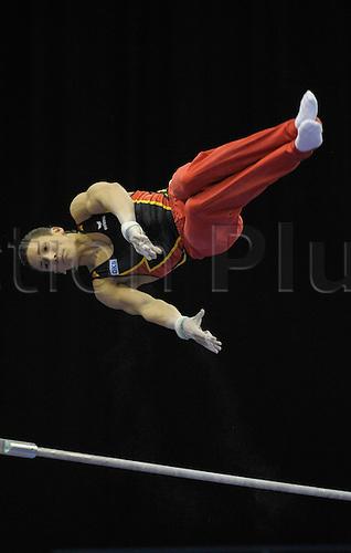 23/04/2010 European Gymnastics Championships .Senior Mens Team Final, NGUYEN Marcel of Germany.