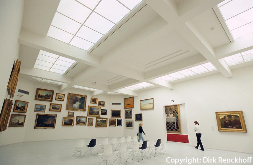 Belgien, Flandern, im Groeningenmuseum in Brügge