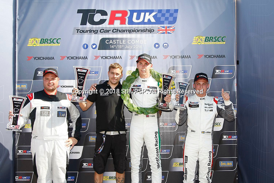 2018 TCR UK Round 4 at Castle Combe