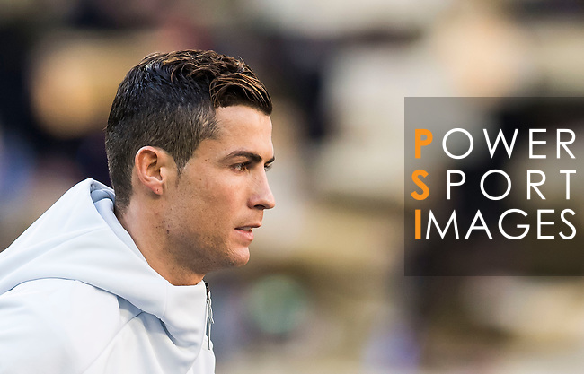 Cristiano Ronaldo of Real Madrid prior to the La Liga match between Real Madrid and Granada CF at the Santiago Bernabeu Stadium on 07 January 2017 in Madrid, Spain. Photo by Diego Gonzalez Souto / Power Sport Images