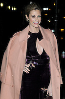 www.acepixs.com<br />  January 10, 2017 New York City<br /> <br /> Erin Andrews arriving to tape an appearance on 'The Late Show with Stephen Colbert' on January 10, 2017 in New York City.<br /> <br /> Credit: Kristin Callahan/ACE Pictures<br /> <br /> Tel: (646) 769 0430<br /> e-mail: info@acepixs.com
