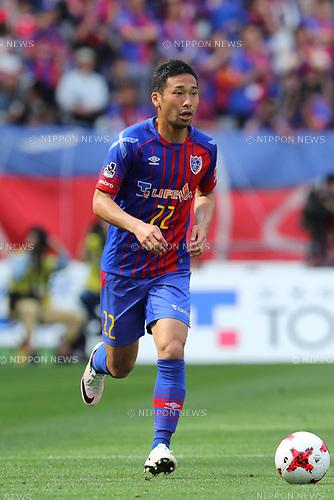 Yuhei Tokunaga (FC Tokyo), <br /> APRIL 16, 2017 - Football / Soccer : <br /> 2017 J1 League match between F.C. Tokyo 0-1 Urawa Reds <br /> at Ajinomoto Stadium, Tokyo, Japan. <br /> (Photo by AFLO SPORT)