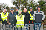 Catching all the action at the Circuit of Kerry rally last Sunday near Ballymac were l-r: Shane McCarthy, Mike Hanlon, Jason Bradley, Selina Looney, Sean Callaghan, Denis McCarthy with Steven Bradley all Tralee and Kenmare.