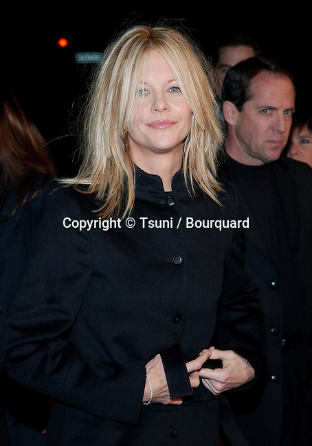 Meg Ryan arriving at the premiere of Kate & Leopold at the Mann Bruin Theatre in Westwood, Los Angeles. December 11, 2001.            -            RyanMeg090.jpg