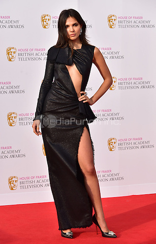 LONDON, ENGLAND - MAY 08: Doina Ciobanu at he British Academy (BAFTA) Television Awards 2016, Royal Festival Hall, Belvedere Road, London, England, UK, on Sunday 08 May 2016.<br /> CAP/JOR<br /> &copy;JOR/Capital Pictures /MediaPunch ***NORTH AMERICA AND SOUTH AMERICA ONLY***