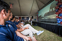 AR_07272016_RIO_HOUSTON_00002.ARW  © Amory Ross / US Sailing Team.  HOUSTON - TEXAS- USA. July 27, 2016. The Houston Yacht Club hosts a send-off party for the US Sailing Team during the Optimist Nationals regatta, a day before the sailors fly to Rio for the Summer Olympics.