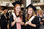 With Compliments,  25/8/2015  Attending the University of Limerick Conferrings were Michelle Kavanagh, Clonmel, who was conferred with a LLB in Law Plus and Caoilinn Doran, Kilkenny city , who was conferred with a LLB in Law Plus.<br />