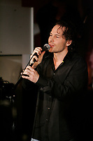 Former Formula One World Champion Jacques Villeneuve launch First Date. ...<br />