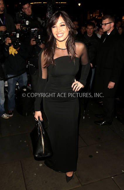 WWW.ACEPIXS.COM<br /> <br /> US Sales Only<br /> <br /> September 15 2013, London<br /> <br /> Daisy Lowe arrives at the Vogue dinner held at Balthazar during London Fashion Week SS14 on September 15 2013 in London<br /> <br /> By Line: Famous/ACE Pictures<br /> <br /> <br /> ACE Pictures, Inc.<br /> tel: 646 769 0430<br /> Email: info@acepixs.com<br /> www.acepixs.com