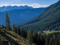 Hochimst Untermarkter Alm Mittelstation, Imst, Tirol, &Ouml;sterreich, Europa<br /> Obermarkter Alm,, Hochimst, Imst, Tyrol, Austria, Europe