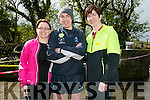 Debbie O'Sullivan, Eoin Griffin and Johanna Griffin. at the BWildered Challenge in Ballymacelligott on Saturday