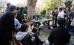 FUDBAL, JOHANEZBURG, 25. Jun. 2010. - Predsednik Fudbalskog saveza Srbije Tomislav Karadzic obratio se novinarima ispred hotela Sunnyside Park nakon zavrsetka ucesca reprezentacije na Svetskom orvenstvu u Juznoj Africi. Foto: Nenad Negovanovic