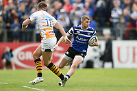 Ruaridh McConnochie of Bath Rugby in possession. Gallagher Premiership match, between Bath Rugby and Wasps on May 5, 2019 at the Recreation Ground in Bath, England. Photo by: Patrick Khachfe / Onside Images