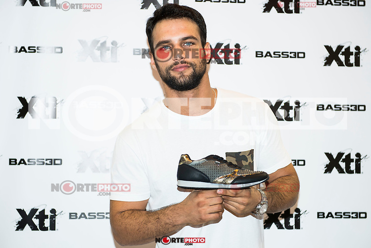 Spanish actor Jesus Castro, the new image for Xti pose to the photographersat at Nomad Shoes in Madrid. September 09, Spain. 2016. (ALTERPHOTOS/BorjaB.Hojas) /NORTEPHOTO.COM