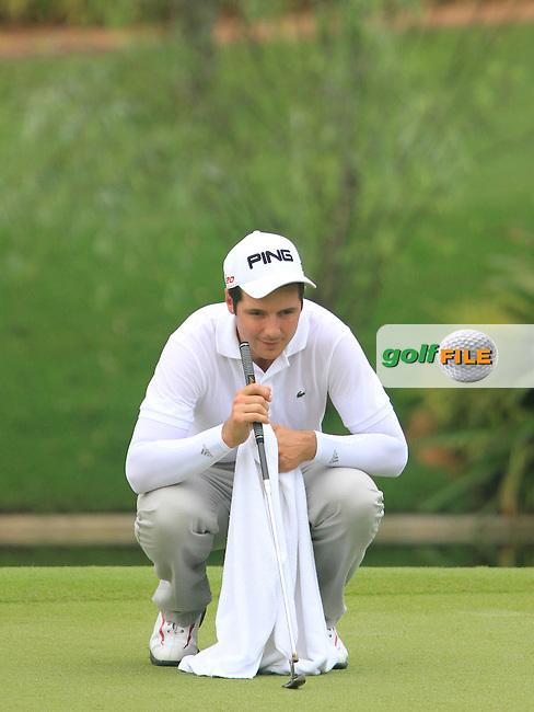 Julian Quesne (FRA) on the 16th on Day 1 of the Maybank Malaysian Open 2012 at Kuala Lumpur Golf and Country Club, Kuala Lumpur, Malaysia...(Photo Jenny Matthews/www.golffile.ie)