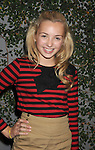 """LOS ANGELES, CA - OCTOBER 04: Peyton List arrives at the launch of """"Just Dance 3"""" at The Beverly on October 4, 2011 in Los Angeles, California."""