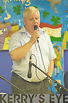 Local singer Philip Enright preforming at the Annual Gary McMahon singing weekend last Saturday night in Fr Casey's GAA, Abbeyfeale..