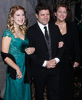 "HOLLYWOOD, CA - DECEMBER 02: Sean Astin, Christine Harrell Astin, Alexandra Astin arriving at the Los Angeles Premiere Of Warner Bros' ""The Hobbit: The Desolation Of Smaug"" held at Dolby Theatre on December 2, 2013 in Hollywood, California. (Photo by Xavier Collin/Celebrity Monitor)"
