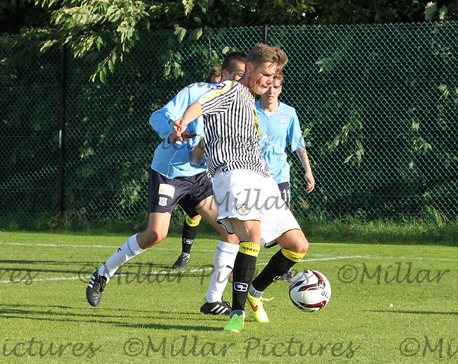 Thomas Reilly in the St Mirren v Dundee Scottish Professional Football League Development League match played at Ralston Training Ground,, Paisley on 19.8.14.