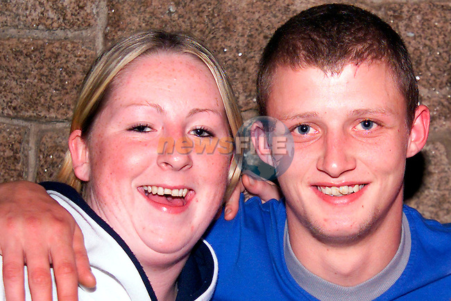 Dawn Gribbon, Beaubec and Colm Dyas from Rathmullen enjoying a night out in the Linen Hall..Picture: Paul Mohan/Newsfile