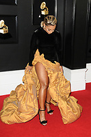 LOS ANGELES - FEB 10:  Ashanti at the 61st Grammy Awards at the Staples Center on February 10, 2019 in Los Angeles, CA